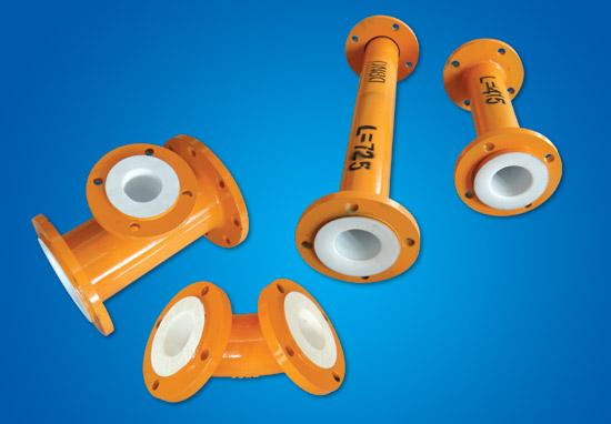 PTFE ფოლადის პლასტიკური კომპონენტი მილები